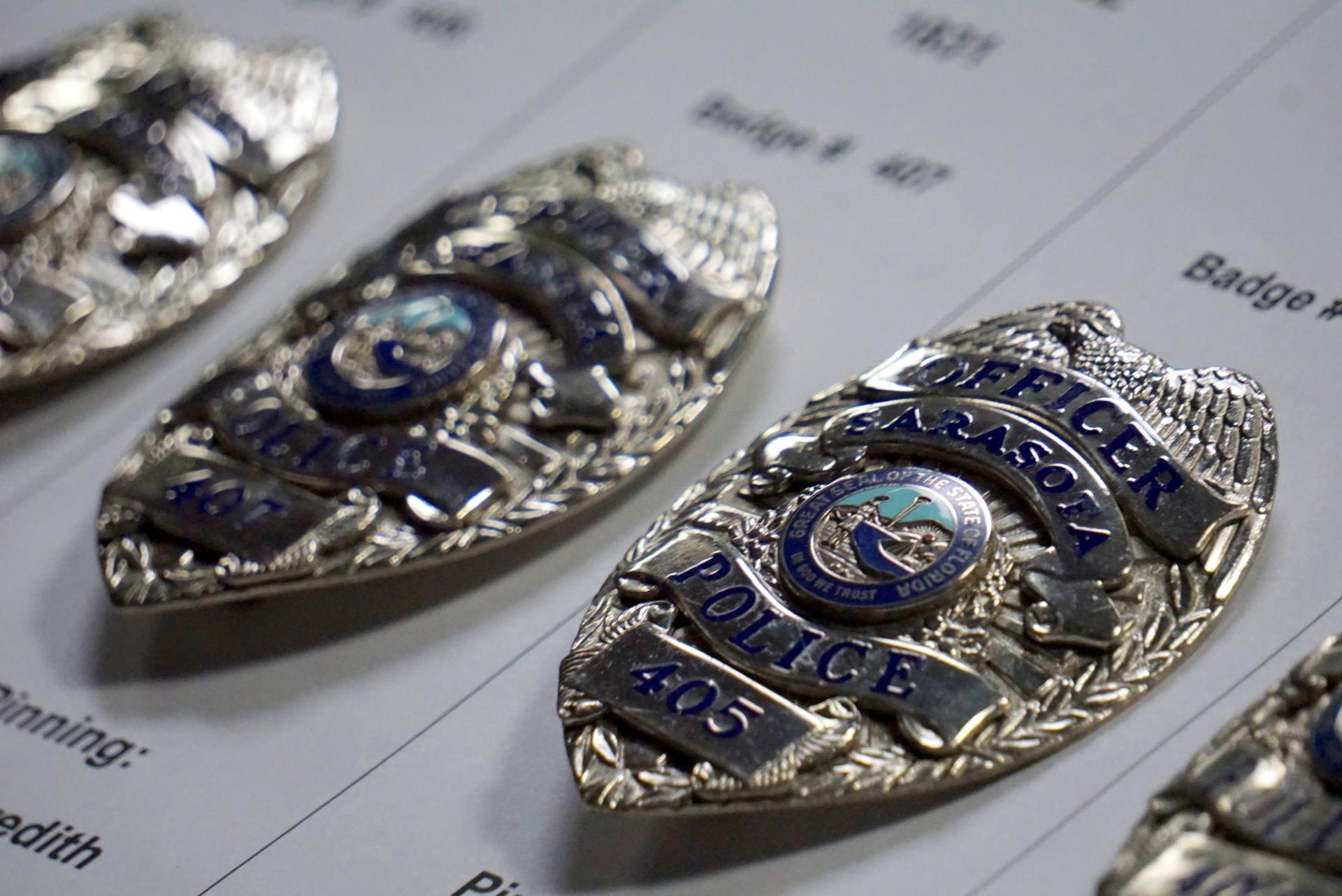 Swearing In Badges